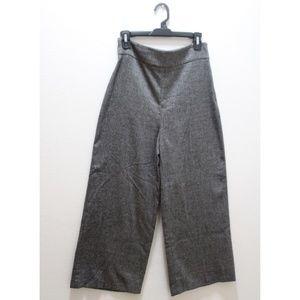 ZARA / High Waist + Wide Leg Work Pant